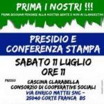 Lega Nord L.Lombarda - Sabato 11 luglio presidi a Corte Franca e Gambara