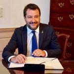 Lettera di Matteo Salvini a Giuseppe Conte