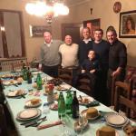 """Grimoldi: questa sera a Vallio Terme: Serata con amici di una vita, tutti Leghisti. Un Grazie speciale a Floriano, nuovamente """"spiedo bresciano dopo 15 anni"""": le radici profonde non gelano mai!"""
