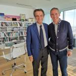 Grimoldi: Questa mattina ho avuto un piacevole e interessante incontro con il governatore lombardo Attilio Fontana nel suo studio a Palazzo Lombardia