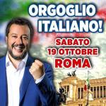 ++ TUTTI A ROMA CON MATTEO SALVINI SABATO 19 OTTOBRE ++