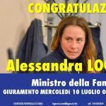 Grimoldi: Congratulazioni ad Alessandra Locatelli per la sua nomina a Ministro per la Famiglia e congratulazioni a Lorenzo Fontana per il suo nuovo delicato dicastero per le Politiche Comunitarie